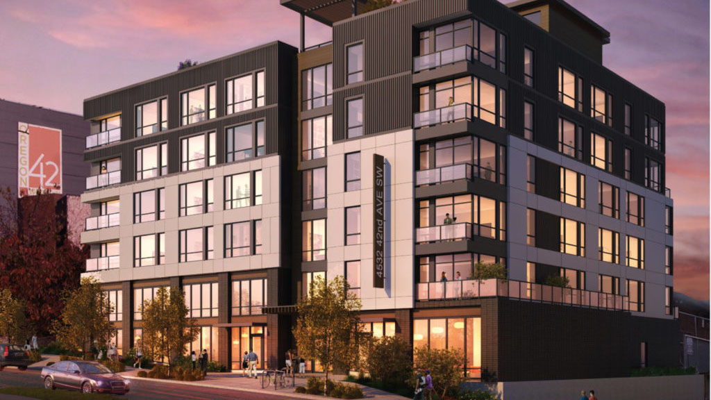 Adell Apartments: Building - Exterior Rendering