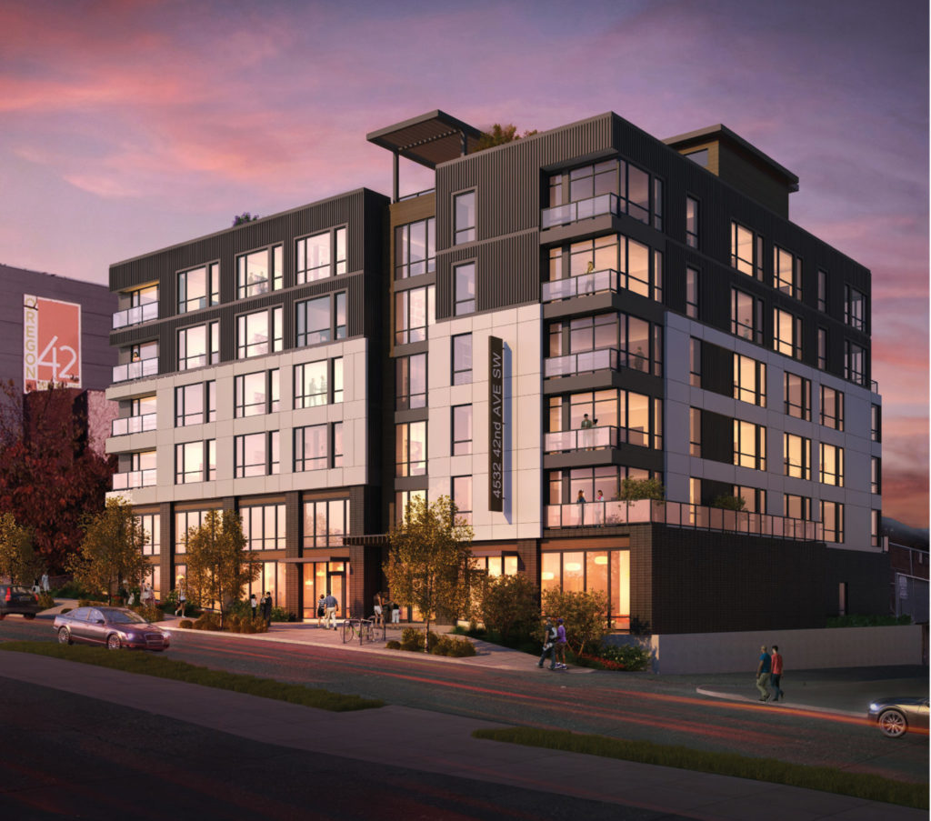 Adell apartments rendering